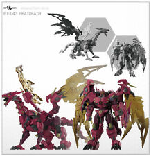 Transformers Iron Factory IF EX-42 Heatdeath BW Megatron Red Dragron in stock