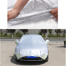 Car Half Cover Sun Shade Heat Protection Reflective Waterproof Auto Accessories