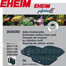 Eheim Pro 2 2226/2026 & 2228/2028 Carbon Filter Pad 2628260 Professional II 3pk