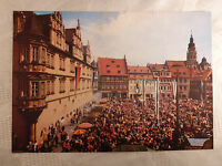 AK alte Ansichtskarte Großformat Coburg Pfingstkongreß Pfingsttreffen Studenten