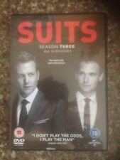 SUITS SEASON 3 DVD UK REGION 2