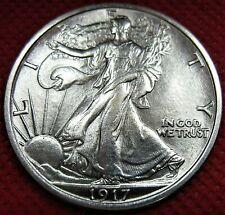 1917-P Walking Liberty Silver Half Dollar *BU *