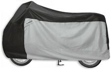 Folding Garage Held Motorcycle Size M Heat Resistant Cover Black Grey Cover New