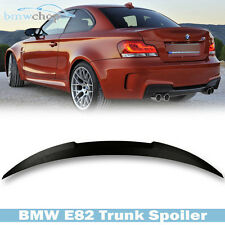 STOCK IN USA ▶ Unpainted For BMW E82 1-Series M4 Style Trunk Spoiler 135i 08-15
