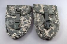 Lot of 2 Entrenching Tool Carriers, New, ACU, MOLLE II, for US Army E-Tool