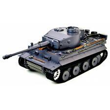 TAIGEN TIGER Tanque RC Pintado a Mano 1 remoto controlado Humo Sonido BBS de especificaciones superiores