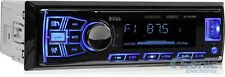 NEW! Boss 611UAB Single DIN Bluetooth USB AUX Car Stereo Radio + FREE DASH KIT!