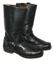 """"""" HIGHWAY 1 """" Herren- Biker- Stiefel / Western- Boots in schwarz ca. Gr. 43,5"""
