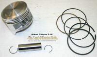 HONDA 81-83 ATC200 Piston Rings .010 65.25mm  ATC 200 MADE IN JAPAN!