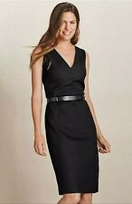 BNWT🌹Next🌹Size 6 Black Tailored Smart Pencil Dress Evening Office Work New XS