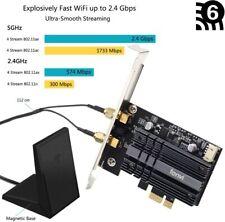 3000Mbps WiFi 6 Wireless Adapter PCI PCI-E Intel AX200 BT5.0 MU-MIMO 802.11ac/ax