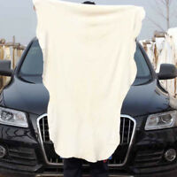 65*100cm large car natural chamois leather cleaning cloth washing dry towel  XJ
