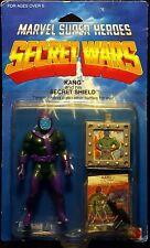 """1984 MATTEL MARVEL SUPER HEROES SECRET WARS KANG 5"""" FIGURE MOC VINTAGE CONQUEROR"""