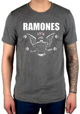 Official Ramones 1974 Eagle T-Shirt End Of The Century Pleasant Dreams Loco Live