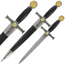 Soldiers of Christ Knights Templar Medieval Dagger Collectible