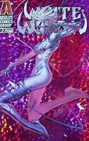 WHITE WIDOW #2 (Hot Pretty in Pink Kickstarter ) Jonboy Absolute comics 1st prt