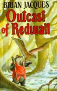 Outcast of Redwall by Jacques, Brian Hardback Book The Fast Free Shipping