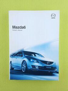 MAZDA 6 (2008 - 2010) Owners Manual / Handbook