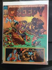 1976 no.82 CREEPY MAGAZINE ~ Super Special Summer Giant with Esteban Maroto!