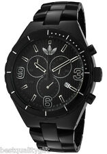 adidas Cambridge Brushed Black Aluminum Band Chronograph Watch Date ADH2576