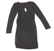 BNWT MINIMUM WEENA S BLACK SPARKLE PARTY TWIST WRAP STYLE BODYCON DRESS