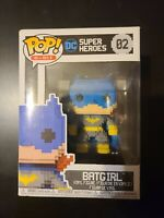 Funko 8-Bit Pop!: DC - Classic Batgirl (Blue) Collectible Figure