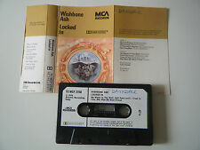 WISHBONE ASH LOCKED IN CASSETTE TAPE 1976 PAPER LABEL MCA UK