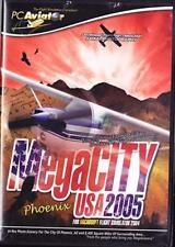 MegaCITY USA 2005: Phoenix PC CD MS flight simulator simulation city game add-on