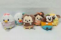 Disney Ufufy Plush Lot Mickey Minnie Daisy Donald Pluto Goofy Scented Small Toys