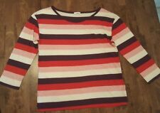 Gap Designed & Crafted Multi-Color Striped Long Sleeve Top Size M
