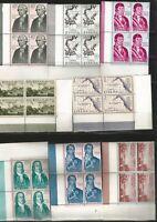 (L103) - FORJADORES DE AMERICA - 1967 - BLOQUES 4 - ESQUINAS