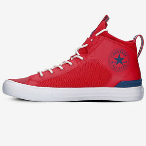 Converse All Star Ultra Mid Men's Athletic Uni Red Sneaker Casual Trainers Shoe