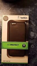 Belkin Textured Grip Candy Slim Case Soft protective Shell for iPhone 6 6s Black
