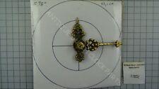 DIAL SIZE 8-9 CM WARMINK TABLE CLOCK SET BLACK HANDS FOR 3MM SCHATZ CLOCKWORK
