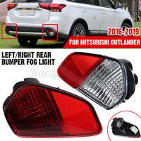 For Mitsubishi Outlander 2016-2019 Rear Bumper Fog Light Tail Lamp Left/ Right