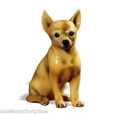 INTRADA Italian Ceramic Chihuahua Dog Animal Statue Figure Handmade in Italy
