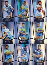 2015 NRL ELITE GOLD COAST TITANS SILVER PARALLEL TEAM SET 9 CARDS ESP