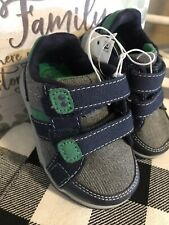 Toddler Boys' Surprize by Stride Rite Sneakers Navy & Green Size 5 or Size 9 NWT
