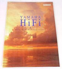 yamaha catalogo hi fi anni 90, vintage