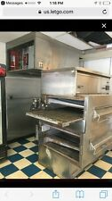 MIDDLEBY MARSHALL PS 360 WB DOUBLE STACK NATURAL GAS CONVEYOR PIZZA OVENS