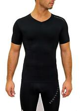Bodyshell Black Short Sleeve Tight Compression Wear Top Large TD078 AA 07