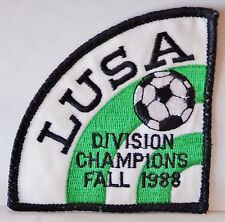 1988 Lot of 2! Lakewood United Soccer Association Junior League Patches *unused*