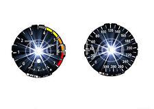 Tachoscheiben für BMW 1er E81 E82 E87 E88 Benziner 300 kmh km/h M1 Stern Nr 128