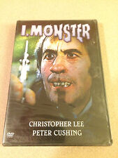 I, Monster DVD Christopher Lee Peter Cushing New Sealed Out Of Print Horror