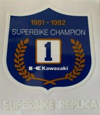 KAWASAKI Z1100R Z1000R EDDIE LAWSON SUPERBIKE CHAMPION DECAL