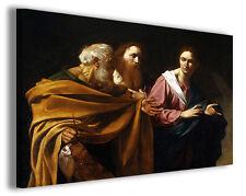 Quadro moderno Caravaggio vol IX stampa su tela canvas pittori famosi