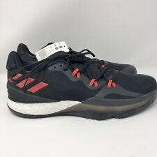 Adidas Mens Basketball Running Shoes  DB1071 Crazy Light Boost 2 Black Red Sz 14
