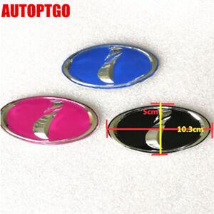 "Black/Pink/Blue JDM Six Stars ""i"" i Logo Emblem Badge For Subaru Impreza WRX STI"