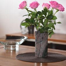 Blumenvase Granit  Deko Paradiso Tischvase Vase aus Naturstein Granit