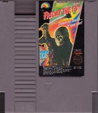 FRIDAY THE 13th CLASSIC SYSTEM ORIGINAL GAME NINTENDO NES HQ
